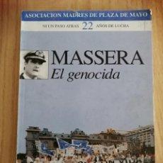 Libros de segunda mano: MASSERA EL GENOCIDA.. Lote 195112358