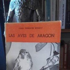 Libros de segunda mano: PEDROCCHI: LAS AVES DE AREGON, (COLECCION ARAGON, 28. LIBRERIA GENERAL, 1978).. Lote 195114665