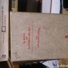 Libros de segunda mano: EL REOLOJ DE LA PUERTA DEL SOL, LUIS ALONSO LUENGO, COMUNIDAD DE MADRID. Lote 195123177