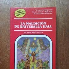 Libros de segunda mano: LA MALDICION DE BATTERSLEA HALL, ELIGE TU PROPIA AVENTURA 52, TIMUN MAS. Lote 195136332