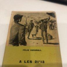 Libros de segunda mano: A LES 21'13. Lote 195144011