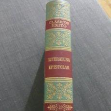 Libros de segunda mano: CLÁSICOS EXITO. N° 20 . LITERATURA EPISTOLAR.. Lote 195144493