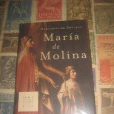 Libros de segunda mano: ALMUDENA DE ARTEGA. MARIA DE MOLINA. MR EDICIONES. TRES CORONAS SIN SEÑALES DE USO. Lote 195144731
