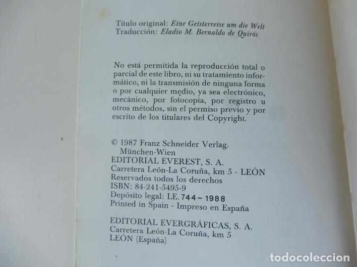 Libros de segunda mano: Un viaje fántasma alrededor del mundo. Dimiter Inkiow. La torre y la flor. Everest 1987 - Foto 2 - 195144998