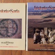 Libros de segunda mano: HISTORIA DE SORIA, CENTRO DE ESTUDIO SORIANOS, JOSE ANTONIO PEREZ RIOJA. Lote 195147405