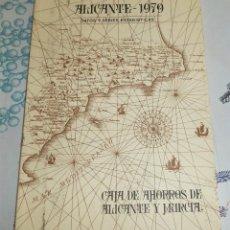Libros de segunda mano: ALICANTE 1979 DATOS Y SERIES ESTADÍSTICAS ED. CAJA DE AHORROS DE ALICANTE Y MURCIA PASTA SEMIRIGIDA. Lote 195148917