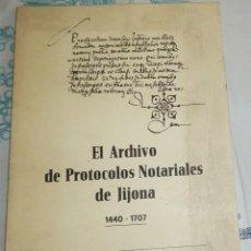 Libros de segunda mano: EL ARCHIVO DE PROTOCOLOS NOTARIALES DE JIJONA 1440-1707 INVENTARIO E ÍNDICE DE NOTARIOS ROSA MARIA B. Lote 195149335