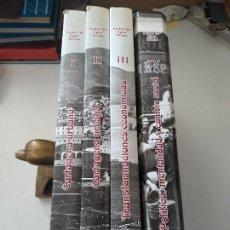 Libros de segunda mano: CARTAGENA IMAGEN Y MEMORIA. PEDRO MARÍA EGEA BRUNO. LOS 4 TOMOS. EN MUY BUEN ESTADO. Lote 195150475