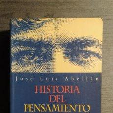 Libros de segunda mano: HISTORIA DEL PENSAMIENTO ESPAÑOL (DE SÉNECA A NUESTROS DÍAS) JOSÉ LUIS ABELLÁN ESPASA, 1996 . Lote 195153593