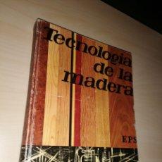 Libros de segunda mano: TECNOLOGÍA DE LA MADERA - EDEBÉ. Lote 195153658