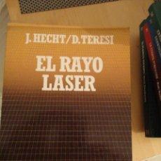 Libros de segunda mano: EL RAYO LASER. J. HECHT. D. TERESI. BIBLIOTECA CIENTIFICA SALVAT. Nº 74. Lote 195153932