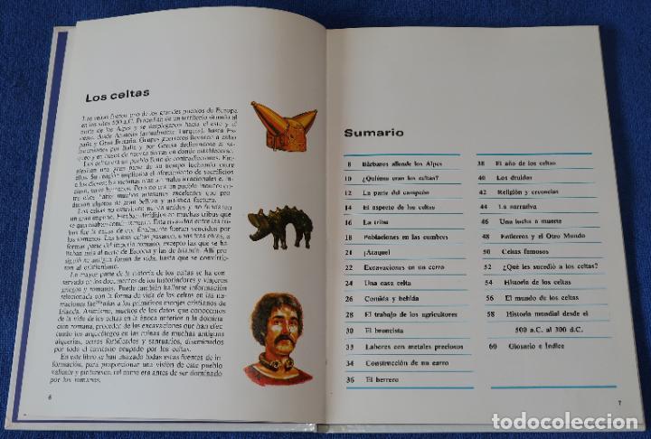 Libros de segunda mano: Celtas - Pueblos del pasado - Editorial Molino (1979) - Foto 3 - 195154510