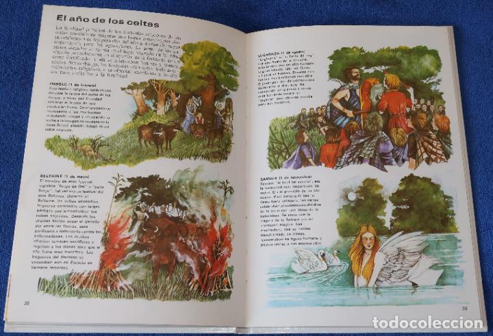 Libros de segunda mano: Celtas - Pueblos del pasado - Editorial Molino (1979) - Foto 4 - 195154510
