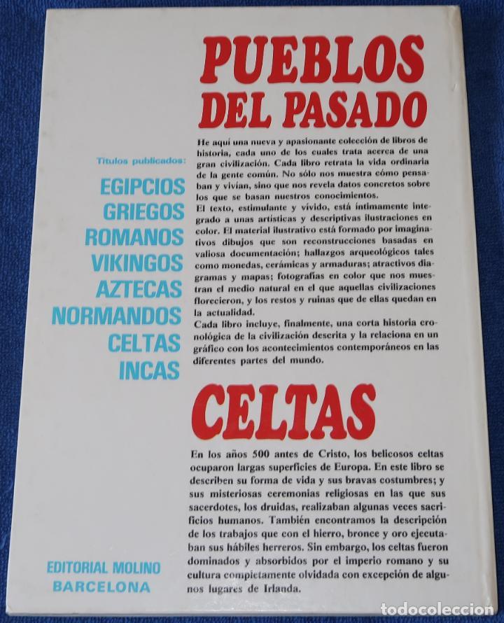 Libros de segunda mano: Celtas - Pueblos del pasado - Editorial Molino (1979) - Foto 5 - 195154510