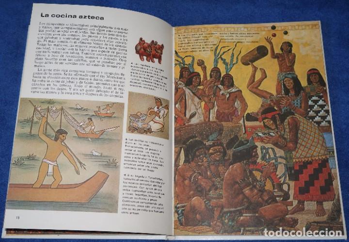 Libros de segunda mano: Aztecas - Pueblos del pasado - Editorial Molino (1979) - Foto 4 - 195154530