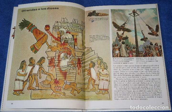 Libros de segunda mano: Aztecas - Pueblos del pasado - Editorial Molino (1979) - Foto 5 - 195154530