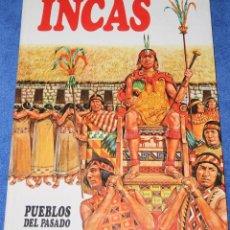 Libros de segunda mano: INCAS - PUEBLOS DEL PASADO - EDITORIAL MOLINO (1979). Lote 195154547