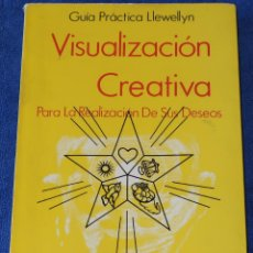 Libros de segunda mano: VISUALIZACIÓN CREATIVA - GUÍA PRÁCTICA LLEWELLYN - LUIS CARCAMO EDITOR (1981). Lote 195154565