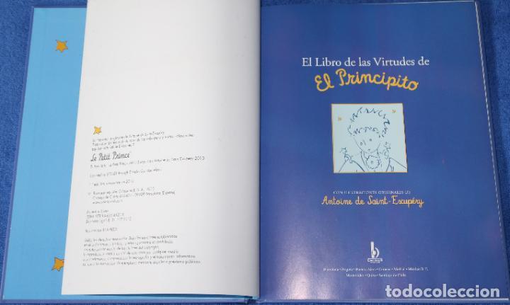 Libros de segunda mano: El libro de las virtudes de El Principito - Ediciones B (2010) - Foto 3 - 195154802