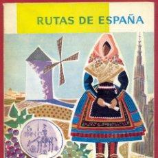 Libros de segunda mano: RUTAS DE ESPAÑA TOLEDO CIUDAD REAL CUENCA ALBACETE # 4 230 PAG. AÑO 1962 LE3202. Lote 195158977