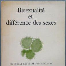 Libros de segunda mano: BISEXUALITE ET DIFFERENCE DES SEXES. GALLIMARD. Lote 195159511
