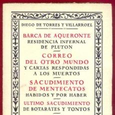 Libros de segunda mano: BARCA DE AQUERONTE EDITORIAL ESPASA-CALPE,S.A. 254 PAG. AÑO 1968 LE3204. Lote 195159813