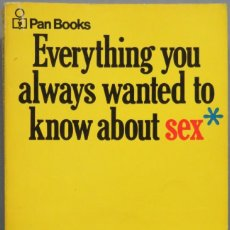 Libros de segunda mano: EVERYTHING YOU ALWAYS WANTED TO KNOW ABOUT SEX. REUBEN. Lote 195159850