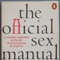 Libros de segunda mano: THE OFFICIAL SEX MANUAL. Lote 195159875