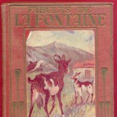 Libros de segunda mano: FABULAS DE LA FONTAINE MANUEL VALLVÉ COLECCIÓN ARALUCE 134 PAG. AÑO 1943 LL3479. Lote 195160205
