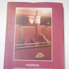 Libros de segunda mano: VALENCIA: CARTELERA DE ESPECTÁCULOS 1940-1950. VIZCAÍNO CASAS FERNANDO. 1999. Lote 195166687