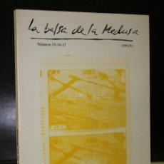 Libros de segunda mano: LA BALSA DE LA MEDUSA. NÚMERO 15-16-17. 1990/1991.. Lote 195171728