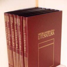 Libros de segunda mano: HISTORIA UNIVERSAL DE LA LITERATURA. (6 TOMOS, OBRA COMPLETA / ED. ORBIS). Lote 195178436