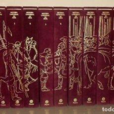 Libros de segunda mano: HISTORIA UNIVERSAL DEL ARTE. COMPLETA 11 TOMOS. EDITORIAL PLANETA. EDICION LUJO.. Lote 195178866