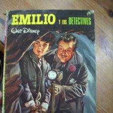 Libros de segunda mano: EMILIO Y LOS DETECTIVES, WALT DISNEY. CO-5. Lote 195179382