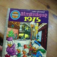 Libros de segunda mano: ALMANAQUE 1975, WALT DISNEY. CO-9. Lote 195179885