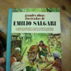 Libros de segunda mano: GRANDES OBRAS ILUSTRADAS DE EMILIO SALGARI. CO-10. Lote 195180032