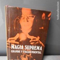 Libros de segunda mano: MAGIA SUPREMA. Lote 195207836
