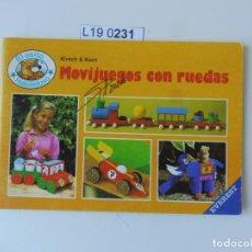 Libros de segunda mano: EL OSITO HABILIDOSO.MOVIJUEGOS CON RUEDAS. 1988. Lote 195230388