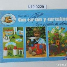 Libros de segunda mano: EL OSITO HABILIDOSO. CON CARTÓN Y CARTULINA. EDITADO EN 1987. Lote 195231028