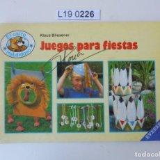 Libros de segunda mano: EL OSITO HABILIDOSO.PAPIROFLEXIA . EDITADO EN 1988. Lote 195231458