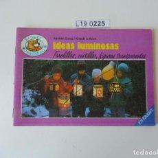 Libros de segunda mano: EL OSITO HABILIDOSO.IDEAS LUMINOSAS . EDITADO EN 1987. Lote 195231916