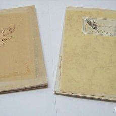 Libros de segunda mano: MENORCA - DRUÏDA - Nº1 DOBLE SEIS 1980 + Nº2 SIS-CINCO 1981- FOTOGRAFIA Y POESIA. Lote 195235900