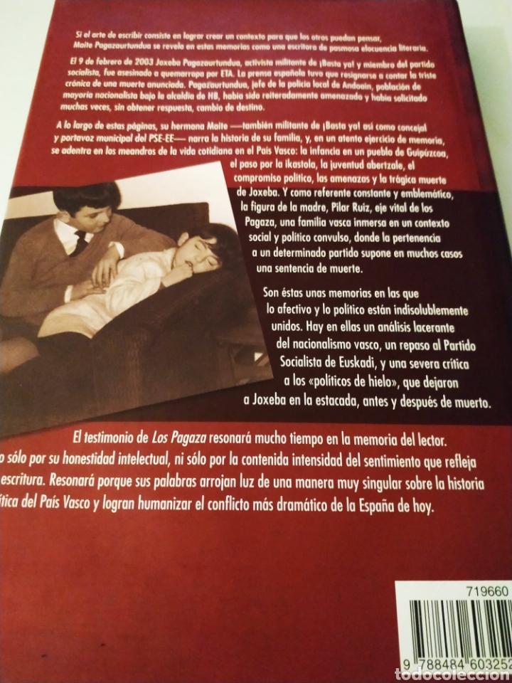 Libros de segunda mano: Los pagaza historia de una familia vasca Maite pagazaurtundua - Foto 2 - 195239486