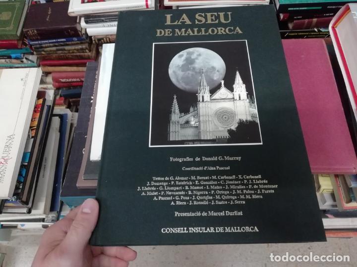 Libros de segunda mano: LA SEU DE MALLORCA. AINA PASCUAL. MARCEL DURLIAT. 1ª EDICIÓ 1995. OLAÑETA. HISTÒRIA , ARQUITECTURA - Foto 2 - 195240648