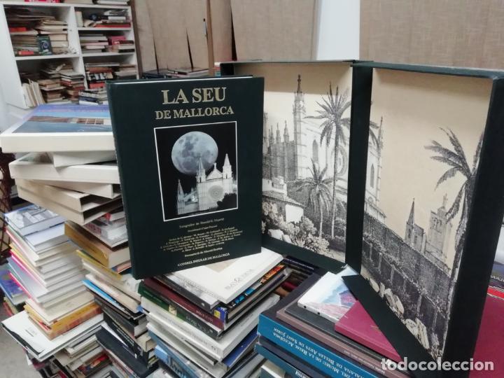 LA SEU DE MALLORCA. AINA PASCUAL. MARCEL DURLIAT. 1ª EDICIÓ 1995. OLAÑETA. HISTÒRIA , ARQUITECTURA (Libros de Segunda Mano - Historia - Otros)