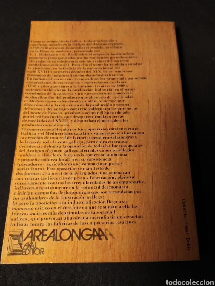 Libros de segunda mano: Industrialización y conflictos sociales en la Galicia del Antiguo Régimen, 1750-1830. Alonso Álvarez - Foto 3 - 195242137