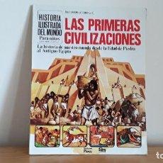 Libros de segunda mano: LIBRO SM PLESA LAS PRIMERAS CIVILIZACIONES . Lote 195244427
