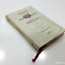 Libros de segunda mano: RICARDO DE BURY. FILOBIBLIÓN. MUY HERMOSO TRATADO SOBRE EL AMOR A LOS LIBROS. (LIBRERÍAS L, 2003). Lote 195246107