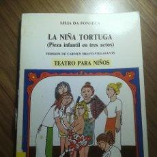 Libros de segunda mano: LA NIÑA TORTUGA TEATRO PARA NIÑOS VERSION DE CARMEN BRAVO-VILLASANTE ED. ESCUELA ESPAÑOLA S.A 1985. Lote 195247090