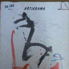 Libros de segunda mano: 36182 - ARTIGRAMA - Nº 3 - REVISTA DEL DEPARTAMENTO DEL ARTE - AÑO 1986 . Lote 195251183